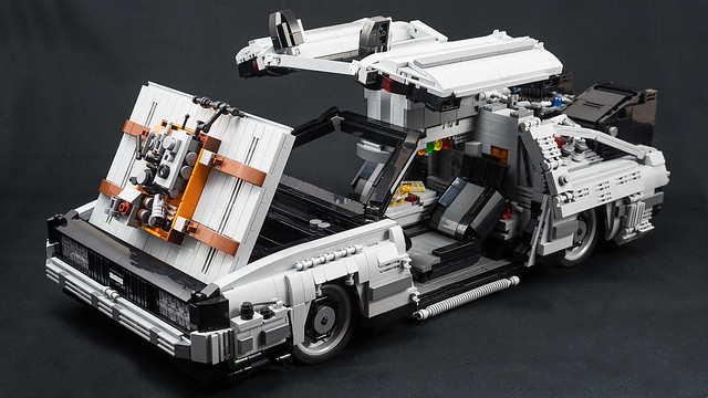Travel Through Time In Style With A Delorean The