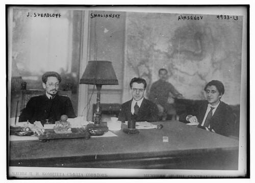 J. Sverdloff, Smoliansky, Avasenov (LOC)
