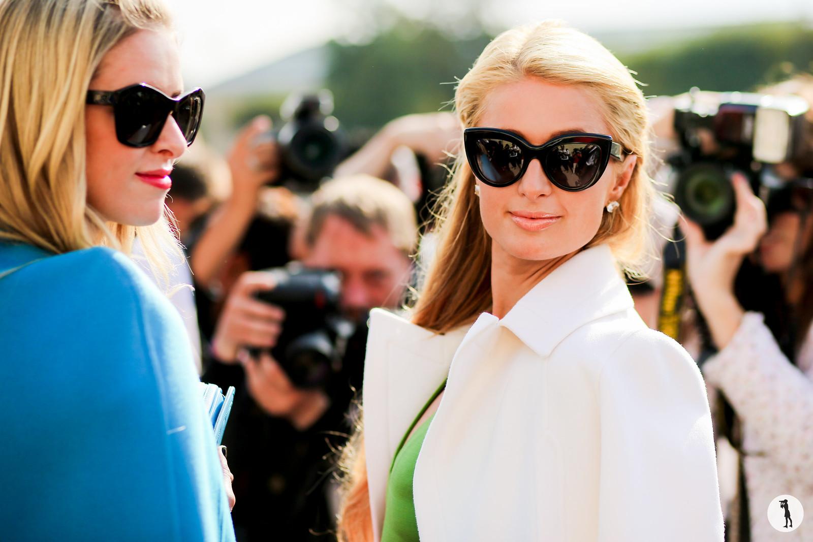 Paris Hilton - Paris fashion week RDT SS15 (1)