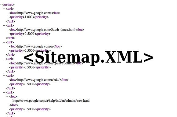 Sitemap XML dành cho Spider của Google