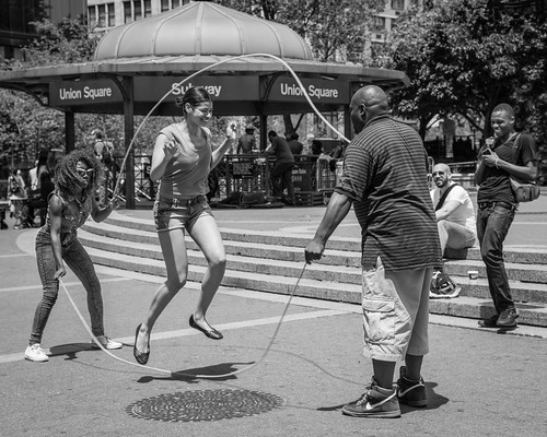 St John >> Double Dutch | Union Square, New York City. | John St John | Flickr