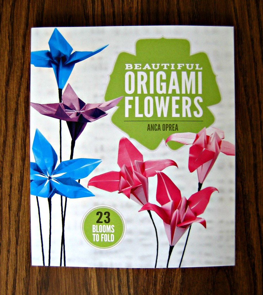 Beautiful origami flowers a paper craft book by anca oprea flickr beautiful origami flowers by all things paper izmirmasajfo