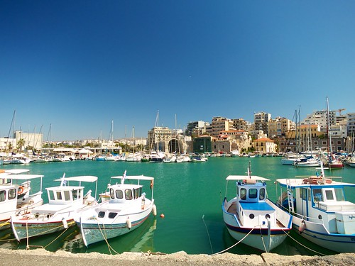 Inner harbour of Heraklion (Ηράκλειο) | by Ania Mendrek
