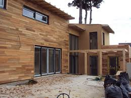 Rohbau Holzfassade Arko Haus Flickr