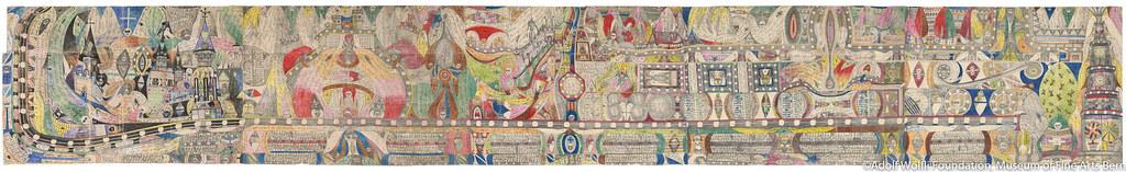 《アリバイ》(1911年)ベルン美術館 アドルフ・ヴェルフリ財団蔵