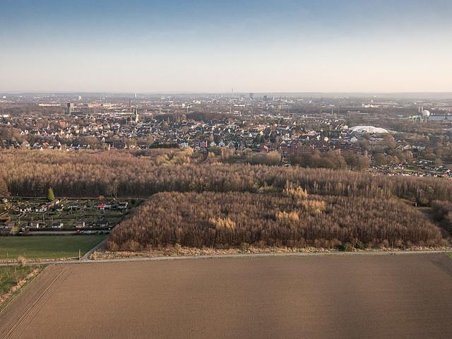 Dortmund-Nord von oben