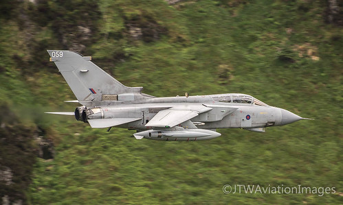 Flat pass from an RAF Tornado GR4 at Cad West | by JTW Aviation Images