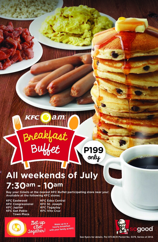 breakfast buffet flyer azrael coladilla flickr