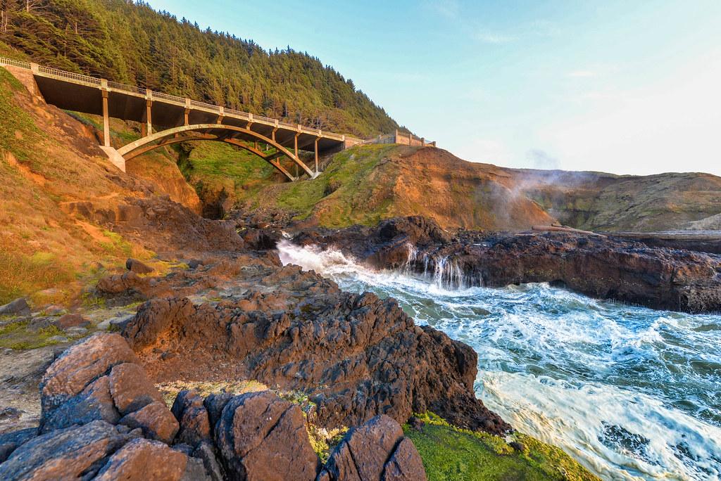 Tidepool Bridge, Oregon Coast