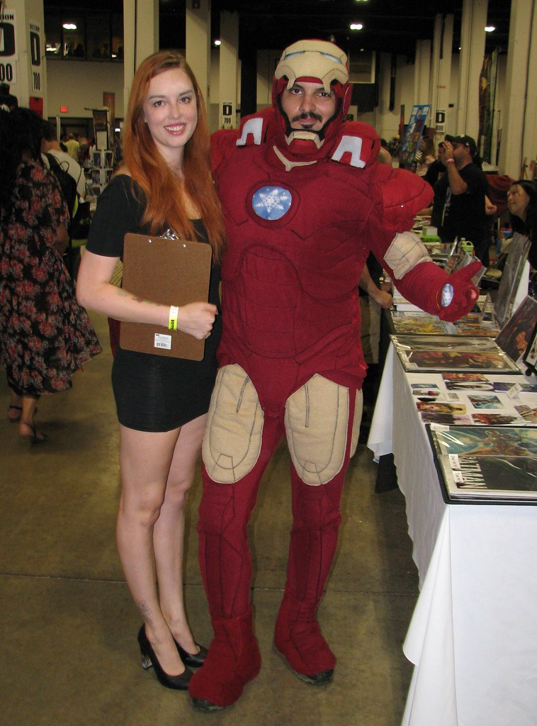 pepper potts and iron man costumers at boston comic con 2014 by franmoff sc 1 st flickr
