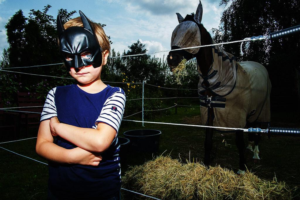 Batboy and Bathorse   by Johan Jehlbo
