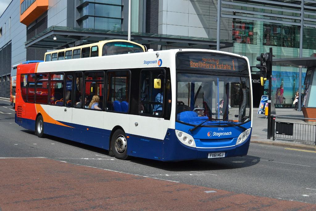 ... Stagecoach AD Enviro 300 27762 FX61HGJ - Hull | by dwb transport photos