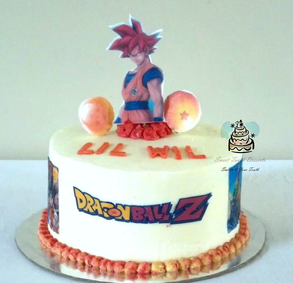 Dragon Ball Z Birthday Cake Simple 8in Dragon Ball Z Birth Flickr