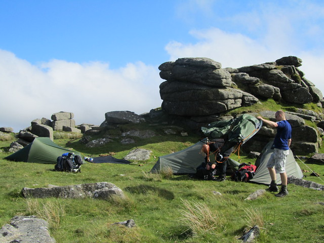 Camp on Rowtor