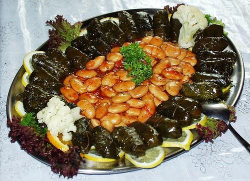 Top 10 Things to Eat in Jordan - Stuffed Grape Leaves