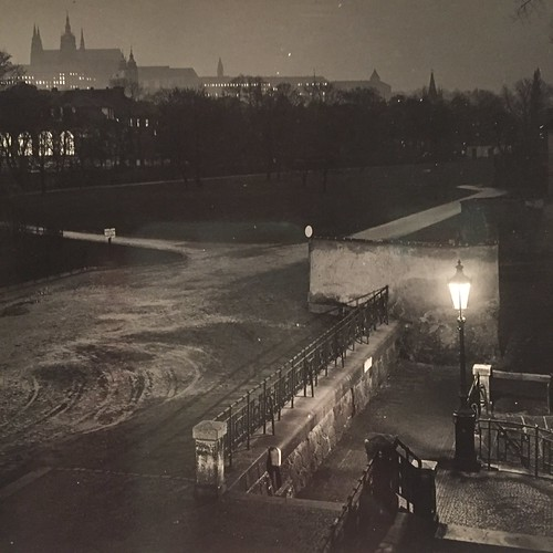 Photo of Prague by Joseph Sudek.