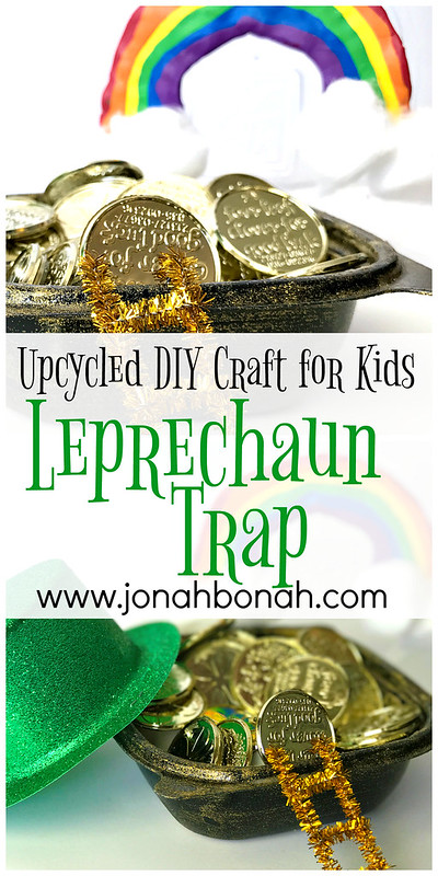 Leprechaun Trap Craft for Kids