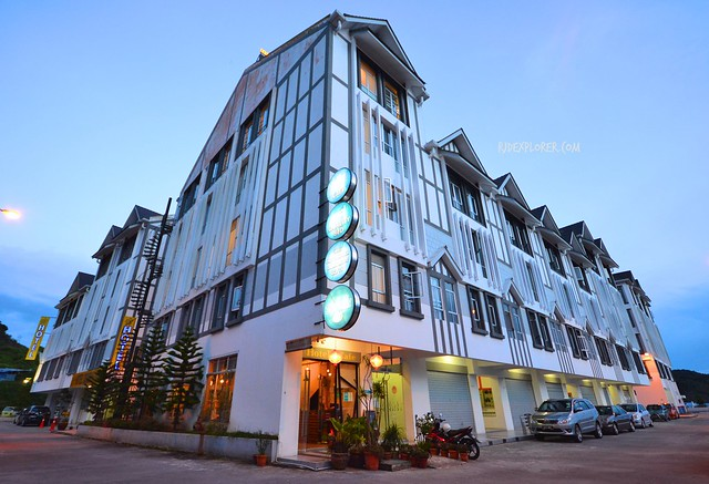 snooze too hotel cameron highlands