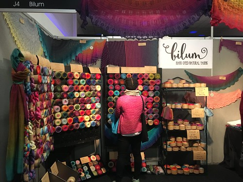 Edinburgh Yarn Festival 2017. Evinok.com for my event roundup blog post.