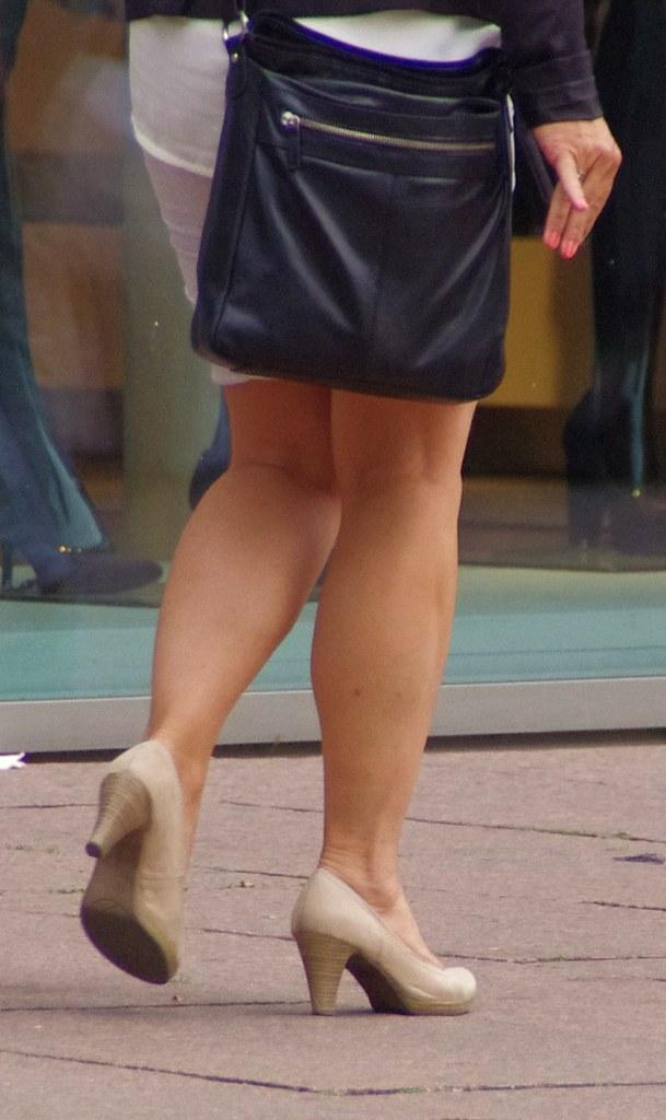 Sturdy mature legs