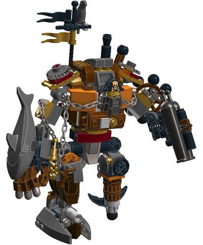 the lego movie captain metal beard after studying the