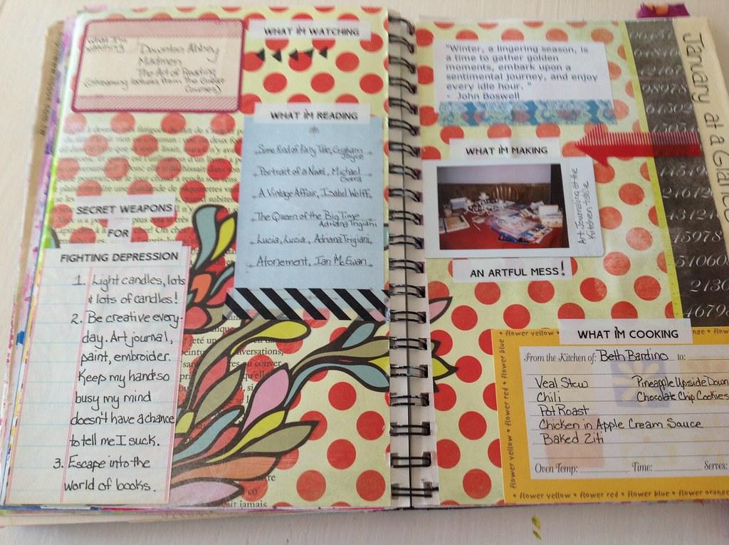 31 Days Of Art Journaling