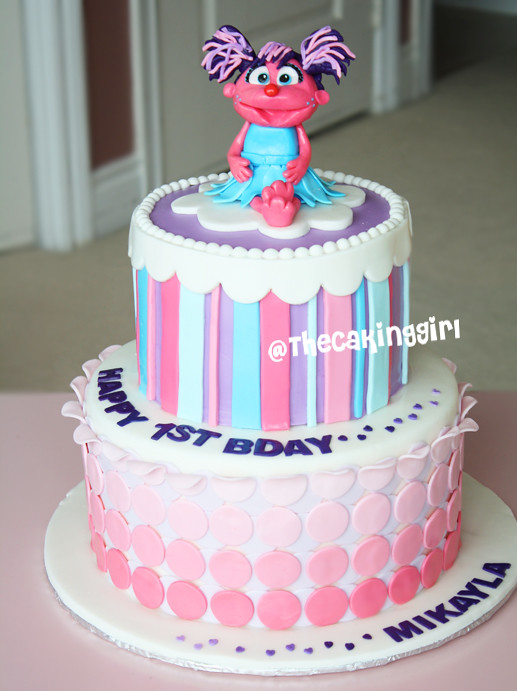 Abby Cadabby Cake Visit My Blog At Thecakinggirl Flickr