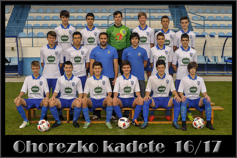 OHOREZKO KADETEAK