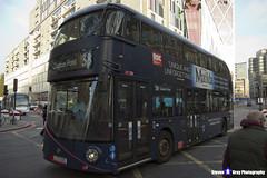 Wrightbus NRM NBFL - LTZ 1220 - LT220 - Matilda - Clapton Pond 38 - Arriva - London 2016 - Steven Gray - IMG_5456