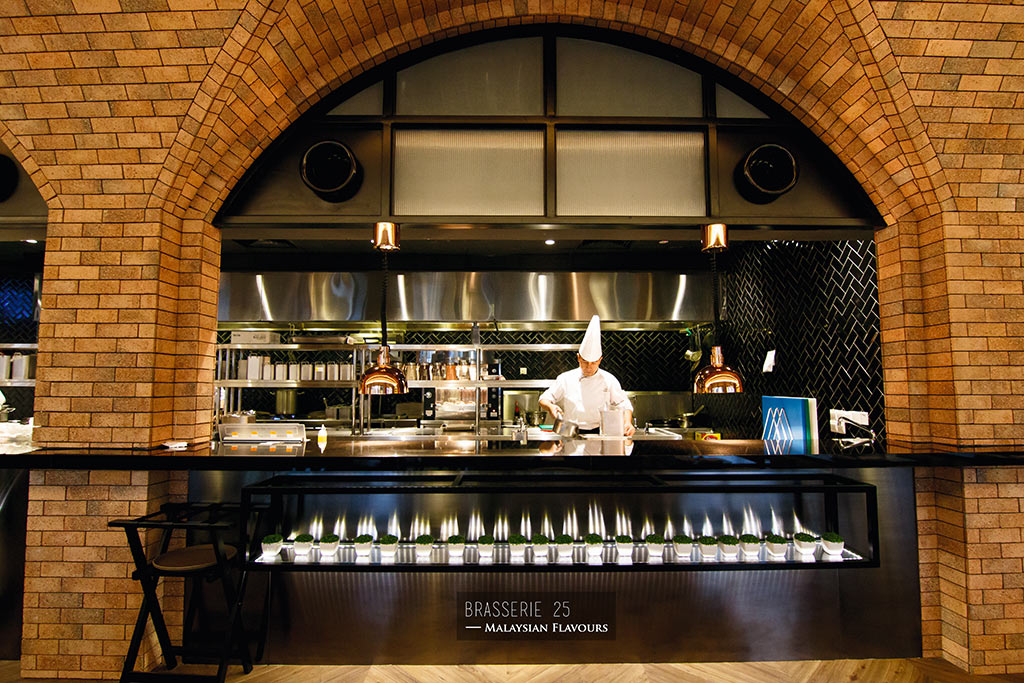 Brasserie 25 hotel stripes kl
