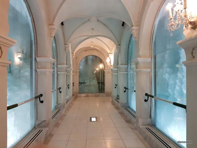 Snow Museum hallway