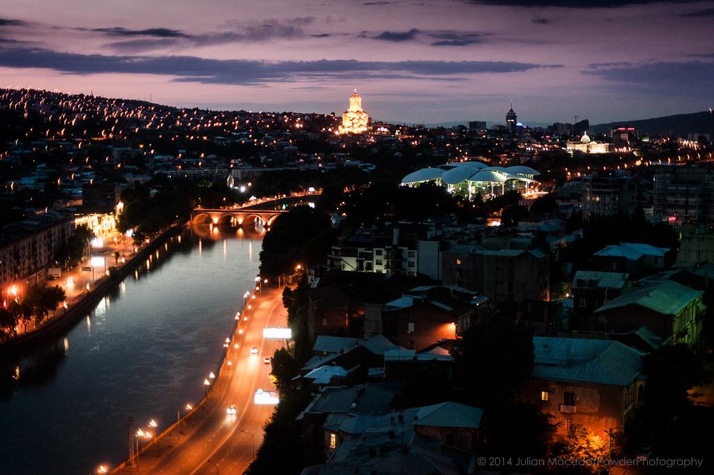 Tbilisi Sunrise - Travel Dsc_4028.Jpg