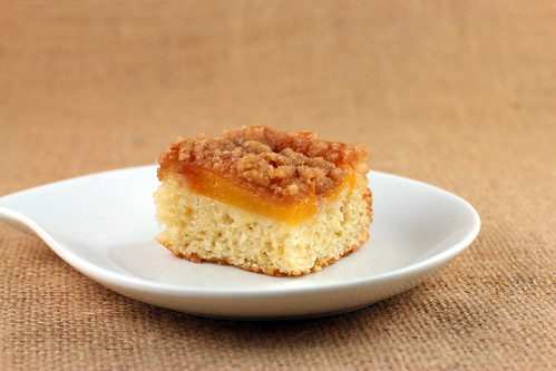 Peach Streusel Coffee Cake | by Food Librarian