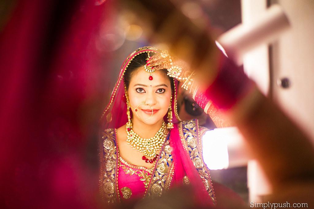 Indian Bridal Shoot Akanshas Wedding By Pushpendra Simplypush Com