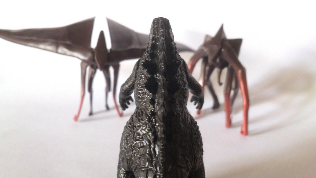 Bandai Godzilla 2014 High Grade 2014 Gashapon Godzilla Vs Flickr