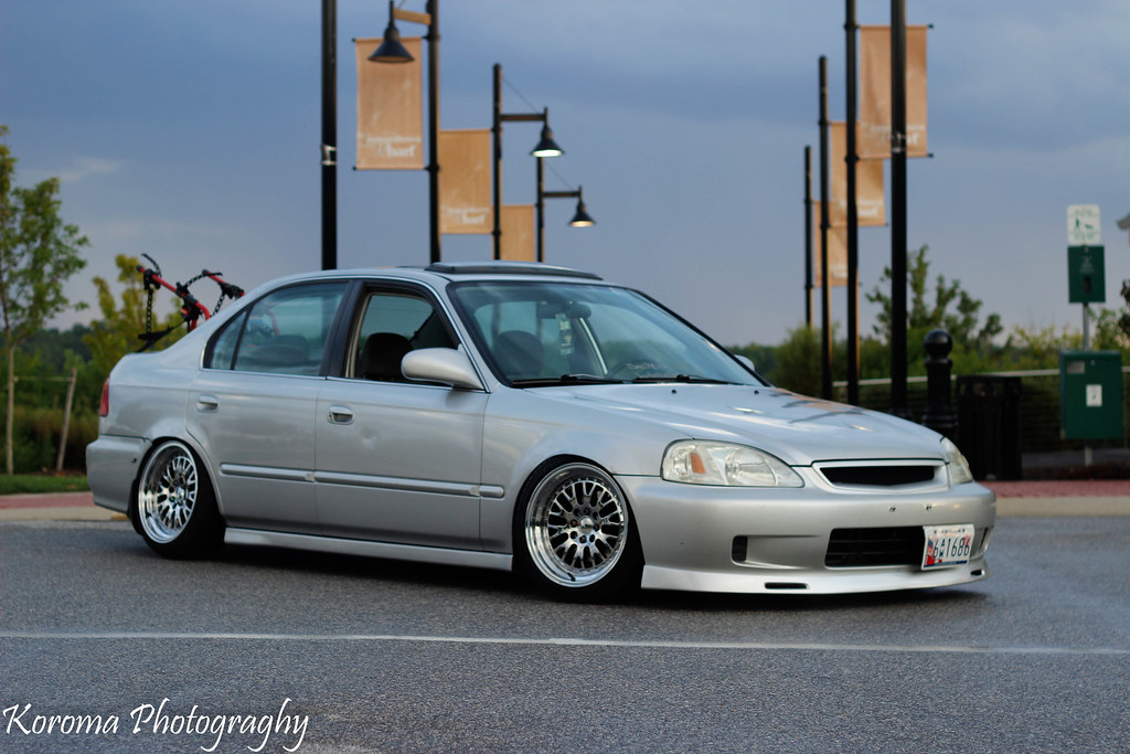 ... Slammed civic 3 door | by boostedcoupe & Slammed civic 3 door | While getting pics of the sunset I tu2026 | Flickr