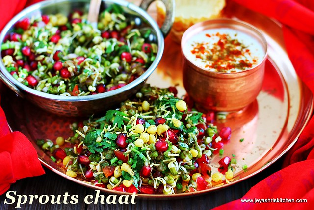 Sprouts- chaat recipe