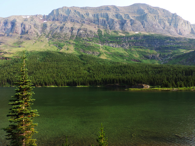 Redrock Lake, Glacier National Park, Montana, USA