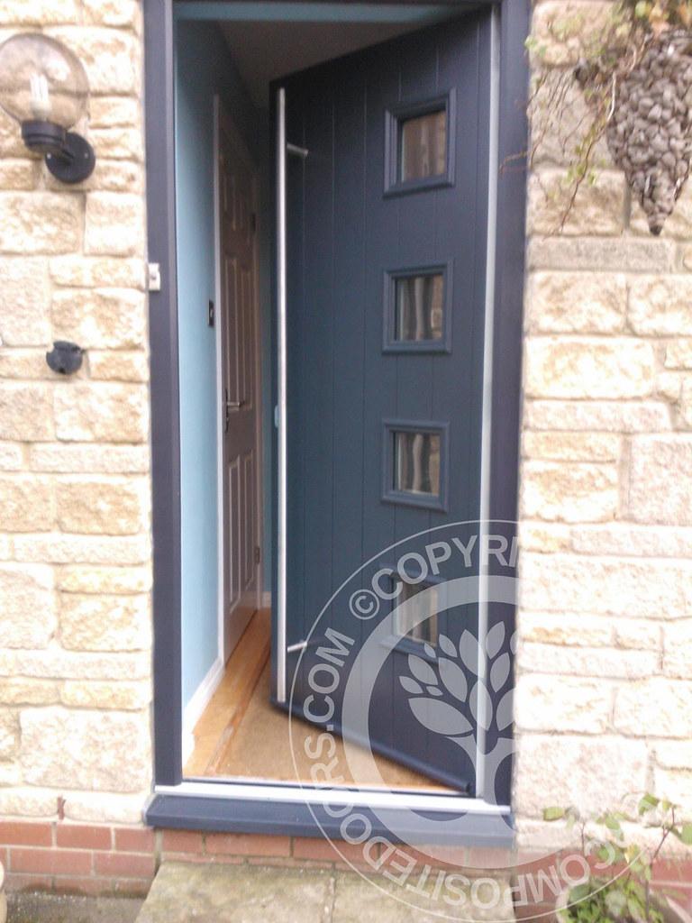... timbercompositedoors Milano Solidor Composite Door by Timber Composite Doors in Anthracite Grey | by timbercompositedoors & Milano Solidor Composite Door by Timber Composite Doors inu2026 | Flickr
