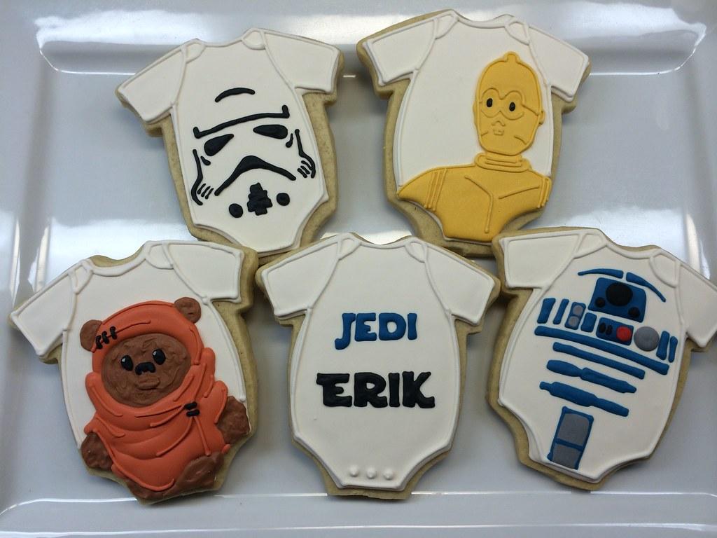 ... Star Wars Baby Shower Onesies | By Cheers To Cookies