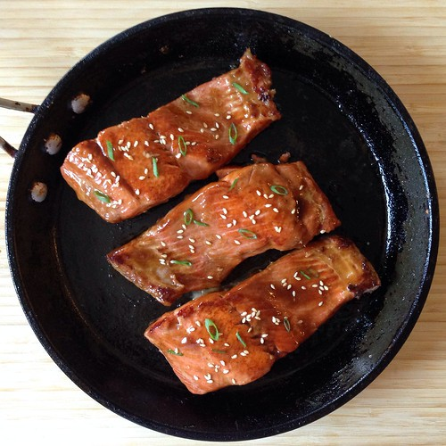 Salmon teriyaki | by joyosity