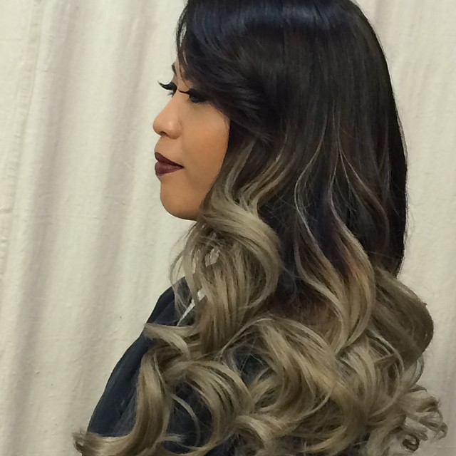 Cool Toned Ombre Ombre Highcontrast Highlights Blonde Flickr