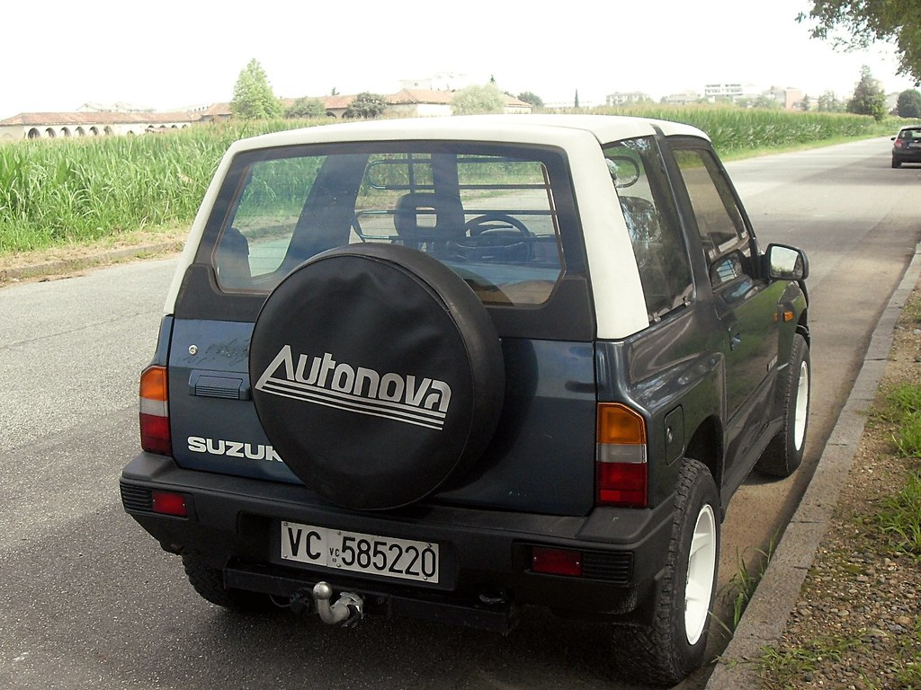 Suzuki Vitara Cabriolet 16 JLX 1991