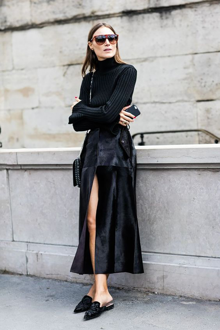 flat mules street style outfit inspiration winter accessories fashion trend style2