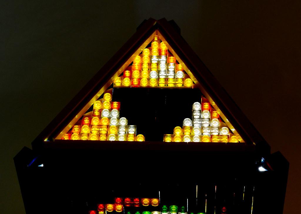 ... Mosaic LEGO Legend Of Zelda Spiritual Stone Lamp | By Baron Julius Von  Brunk