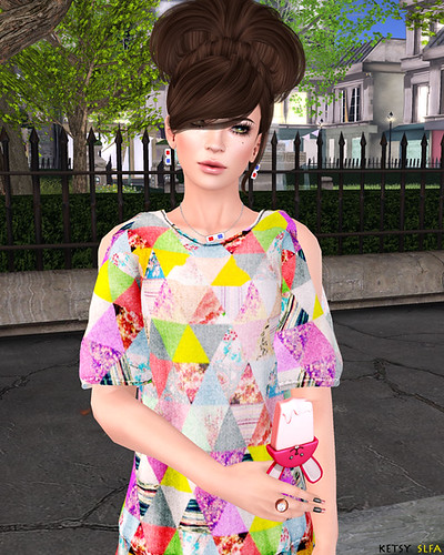 Patchwork Cute (New Post @ Second Life Fashion Addict) | by Jhuzen Ketsugo (Ketsy)