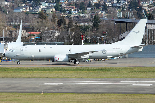 Boeing P8-A Royal Australian Air Force N974DS (A47-004)