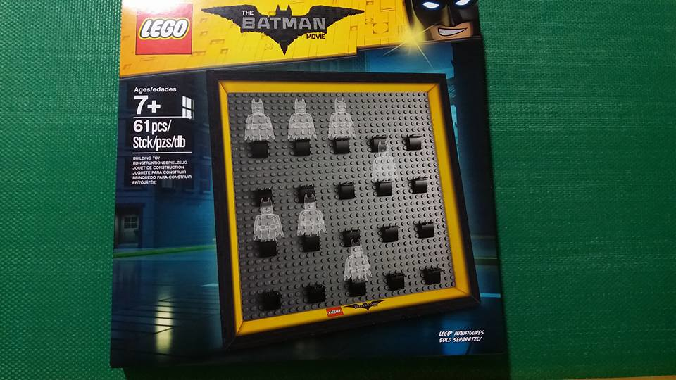 LEGO Batman Movie Minifigure Frame (853638)
