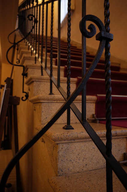staircase at Berrick Hall