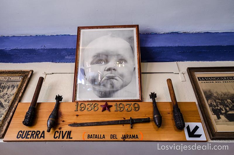 museo de la batalla del Jarama en morata